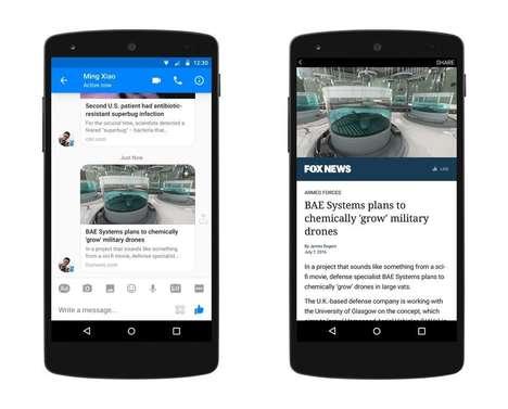 News-Messaging Apps