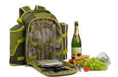 Romantic Dinner Knapsacks - The 'Date Night Backpack' Houses The Necessities For An Evening Meal