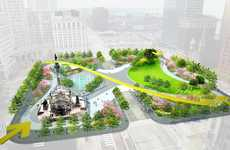 Riot-Quelling Park Designs - Cleveland's Revamped Public Square Makes the Space More Inclusive