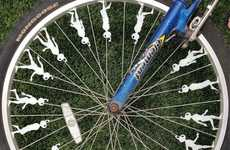 Bicycle Spoke Zoetropes