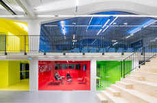 Domestic-Inspired Office Spaces - Architecture Firm MVRDV's Office Was Inspired by Home Interiors