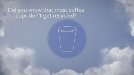 Recyclable Paperboard Coffee Cups