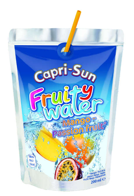 Kid-Friendly Fruit Waters - The Capri-Sun Flavored Beverages Encourages Children to Drink More Water