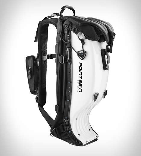 Safeguard Hardshell Backpacks - The Boblbee Motorcycle Bag Provides a Protective Layer While Riding