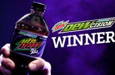 Crowdsourced Soda Flavors - Mountain Dew Let Fans Vote for Flavor Return in the 'DEWcision' campaign