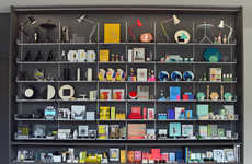 Standalone Museum Shops - This Design Store Was Built to Reflect the Museum's Displays