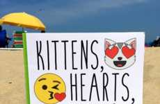 Emoji Coloring Books - 'Kittens, Hearts, and Poo' is a Coloring Book for Emoji-Loving Millenials