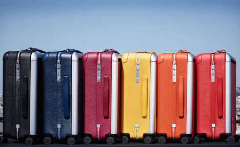 37 Adventurous Luggage Options - From Upcycled Plane Seats to Intelligent Robotic Suitcases