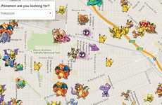 Locating Anime Monster Maps - The Poke Radar Shows Pokemon Go Players Where the Best are Hidden