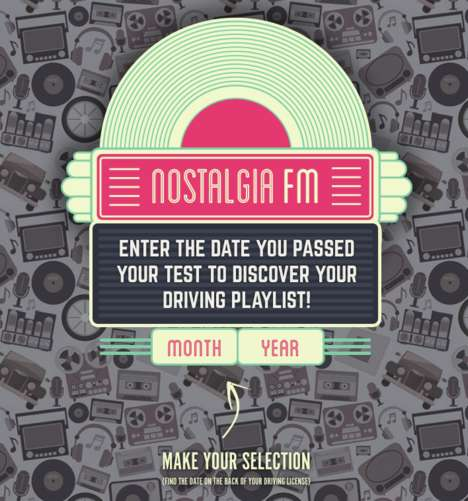 Nostalgic Driving Test Playlists