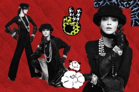 Collage Fashion Campaigns