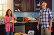 Sitcom-Inspired Pizza Ads - Daiya's Dairy-Free Pizza Commercial is 'Cheesier Than Ever'