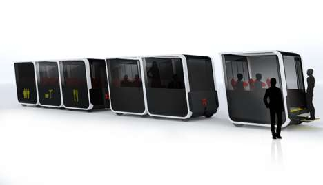 Self-Driving Electric Pods