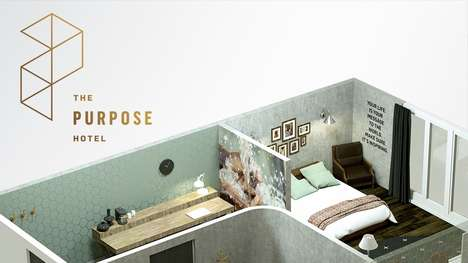 Social Good Hotels - Every Facet of 'The Purpose Hotel' Supports Meaningful Causes in the World