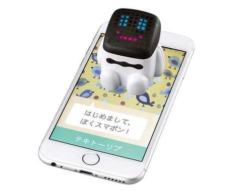 Talkative Smartphone Toys - The Smapon Communication Toy Works in Tandem with a Phone