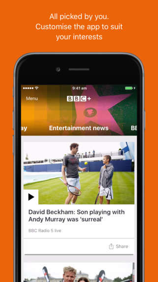Customizable News Apps - The Latest BBC News App Helps You Access Curated News