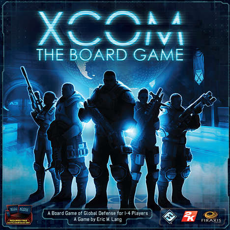 Alien Invasion Board Games - 'XCOM: The Board Game' Plays on the Theme of an Alien Invasion