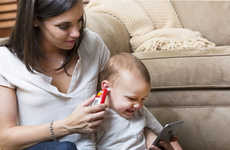 Kid-Friendly Smart Themometers - The Sesame Street Smart Ear Thermometer Helps Track High Temps