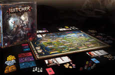 Fantasy Mission Board Games - The Witcher Adventure Game Consists of Team-Based Challenges
