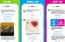 Candy Brand Chatbots - The Trolli Chabot is Aiming to Raise Brand Engagement with Millennials