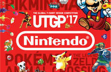 Game-Inspired Design Competitions - UNIQLO Themed Its Annual Clothing Design Competition on Nintendo