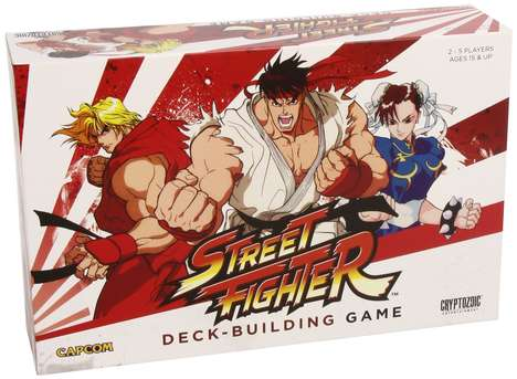 Arcade-Themed Card Games - The Street Fighter Deck Building Game is Inspired by a Digital Classic