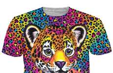 Nostalgia-Inducing Technicolor Clothing - This Lisa Frank Collection Revives Schoolgirl Designs