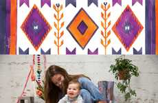Baby-Centric Yoga Mats - Magic Carpet Yoga Mats' 'Happy Baby' Collection Targets Active Parents