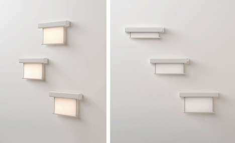 Retractable Wall Lamps