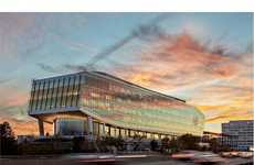Energy-Efficient Office Buildings - The New Balance Headquarters Are Designed to Save Water & Energy