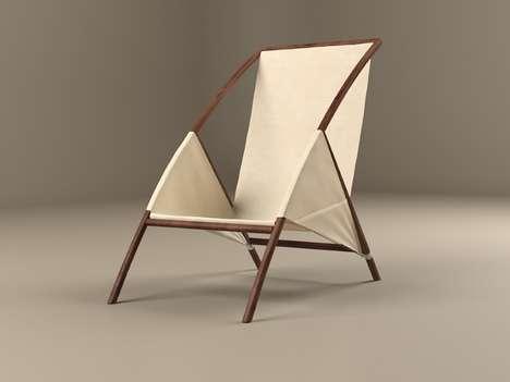 Elegant Canvas Chairs