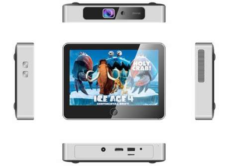 Pocket-Sized Projector Computers