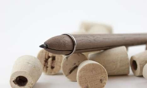 Handcrafted Wooden Pencils