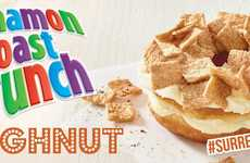 Cereal-Coated Donuts - Country Style's Cinnamon Toast Crunch Doughnut is a Hybrid Breakfast Treat