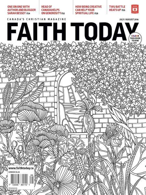 Color-In Magazine Covers