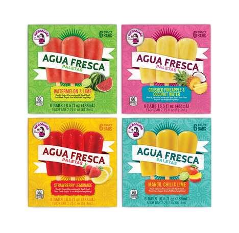 Agua Fresca Popsicles