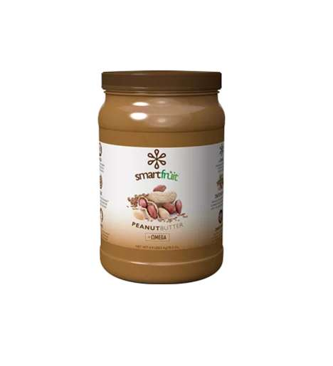 Omega-Rich Peanut Spreads - This SmartFruit Product Combines Peanut Butter and Omega from Flax