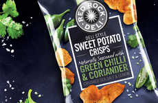 Herb-Flavored Potato Chips - Herbs and Potatoes Come Together in These Red Rock Deli Snacks