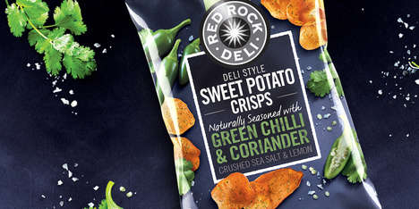 Herb-Flavored Potato Chips