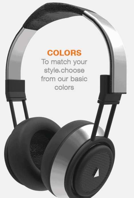 Hybrid Speaker Headphones
