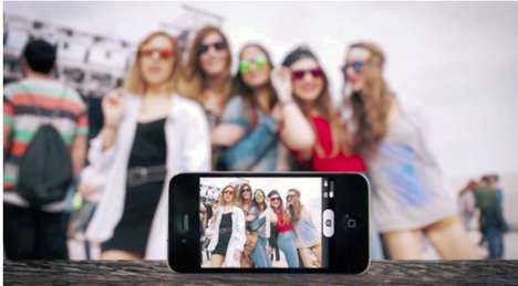 Photo-Snapping Sunglasses - The 'WeOn Selfie' Glasses Can Take Pictures with the Tap of a Button