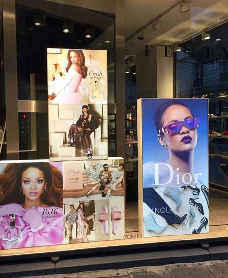 Songstress-Branded Pop-Ups