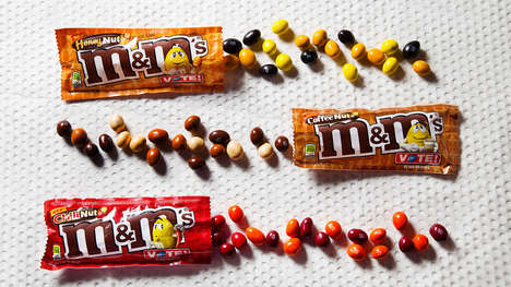 Caffeinated Nut Chocolates - The 'Coffee Nut' M&Ms is a Crowd-Selected New Peanut Flavor
