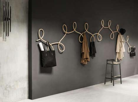 Curvaceous Waltz Coat Racks