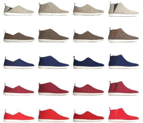 Minimalist Wool Slippers