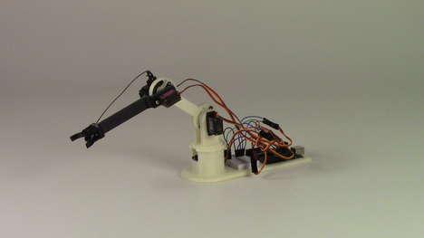 3D-Printed Robot Arms