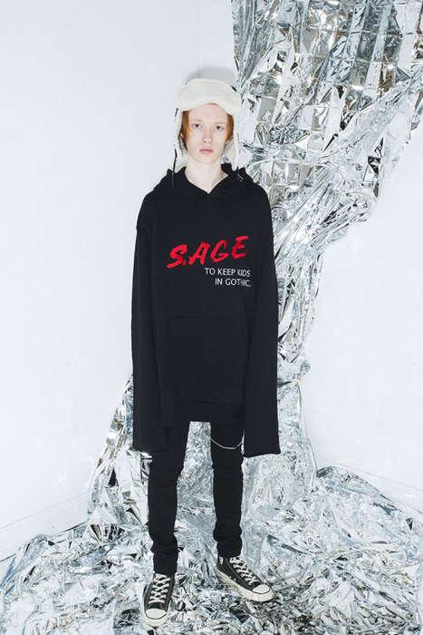 Oversized Gothic Streetwear