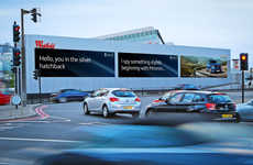 Car-Targeting Billboards - These Targeted Ads are Able To Recognize and Advertise to Individual Cars