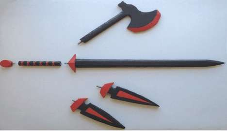 Customizable Role-Playing Weapons