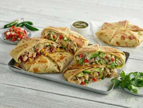 Overstuffed Mexican Wraps